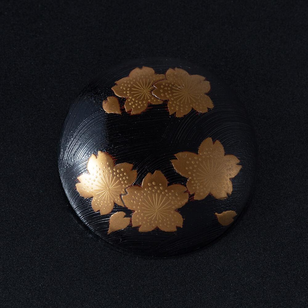 桜咲く 針谷蒔絵