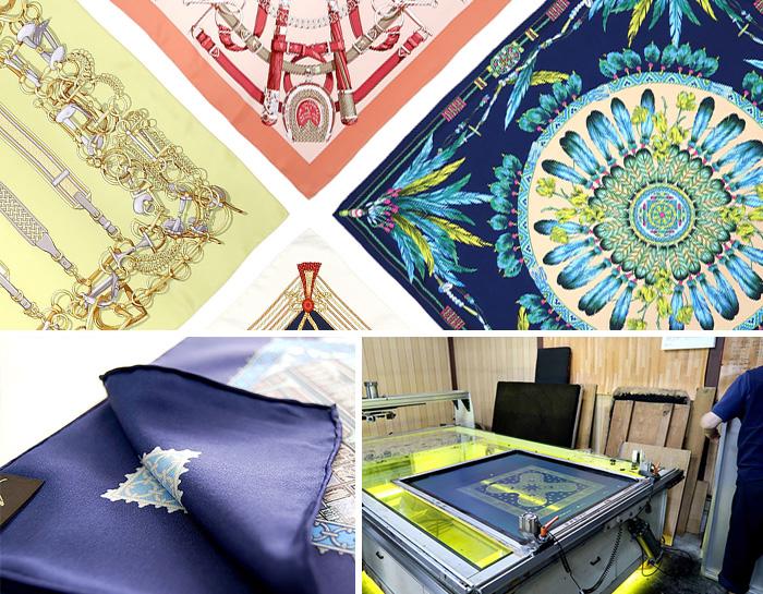 時代とともに変化し続ける職人技 横浜スカーフ