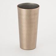 燕鎚器銅器 タンブラー ストレート 線条文