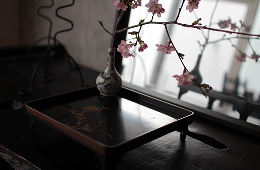 花残月 桜と筍
