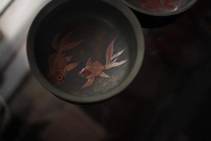 明治の金魚鉢